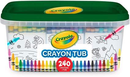 crayola tub