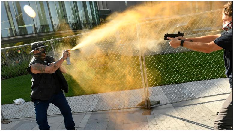 denver protest shooting