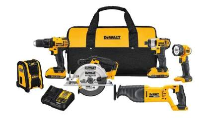 DeWalt 20V MAX Compact 6-Tool Combo Kit