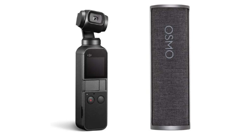 DJI Osmo Pocket Handheld 3-Axis Gimbal Stabilizer