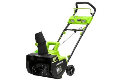 Earthwise 18-Inch 40V Cordless Electric Snow Thrower