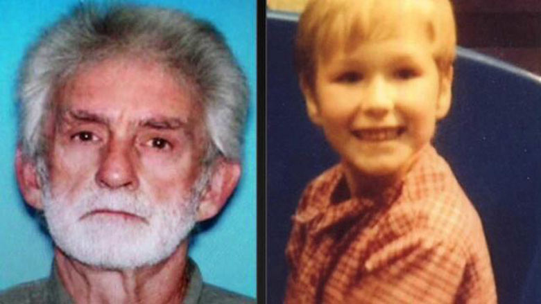 Kidnapper Jimmy Lee Dykes and his 5-year-old victim, Ethan Gilman