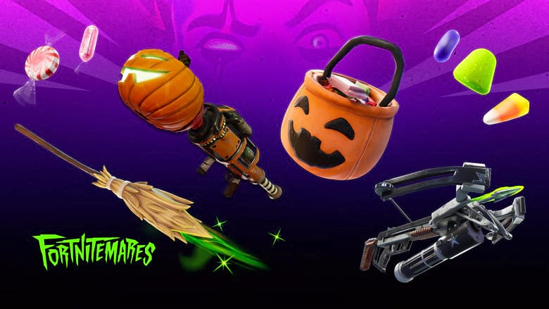 fortnite candy locations fortnitemares