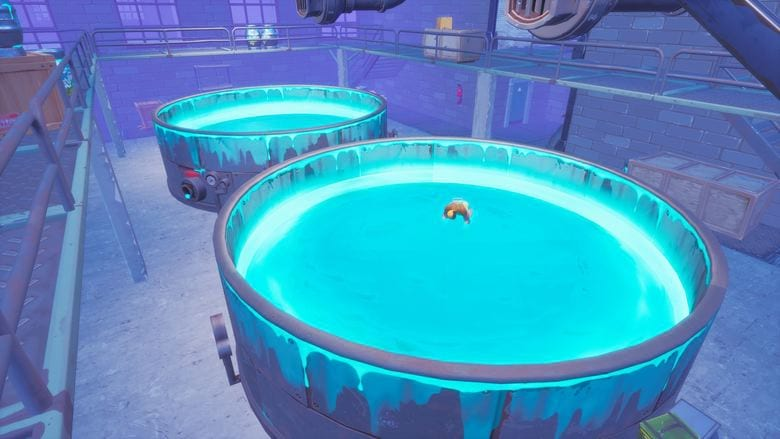 fortnite cleanse the tanks challenge