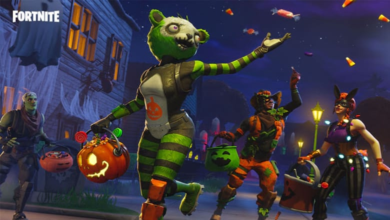 fortnite party royale halloween concert