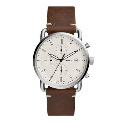 Fossil Men's Commuter Stainless Steel Casual Watch
