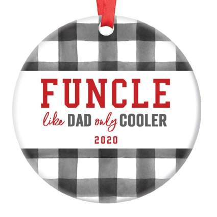 Funcle Christmas Ornament