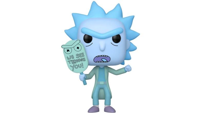Funko Pop! Rick & Morty Hologram