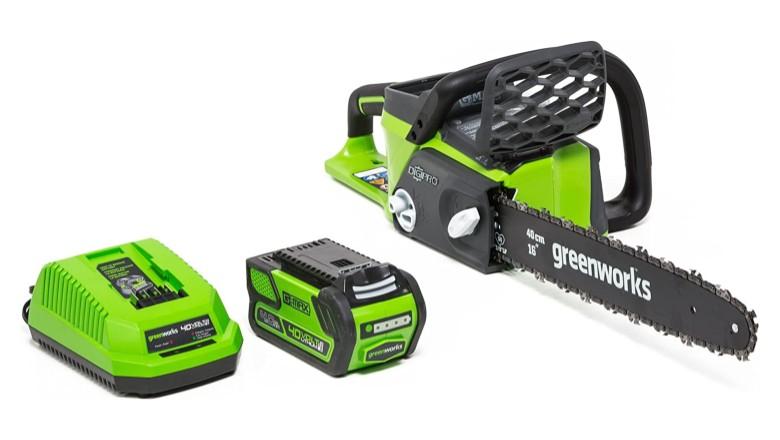 Greenworks 40V 16-Inch Cordless Chainsaw