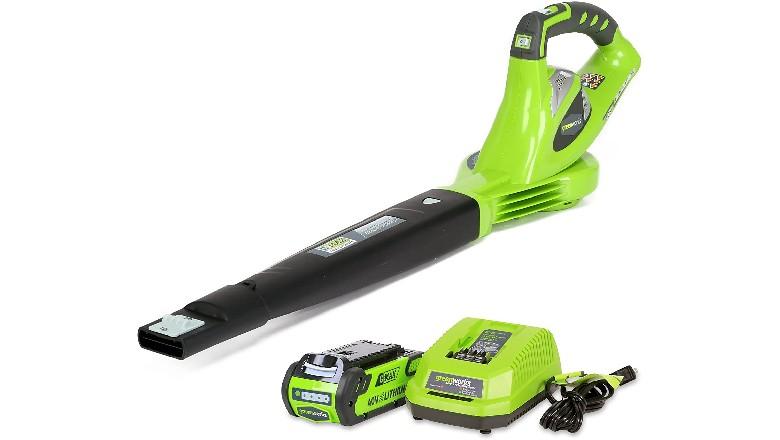 Greenworks 40V Cordless Leaf Blower
