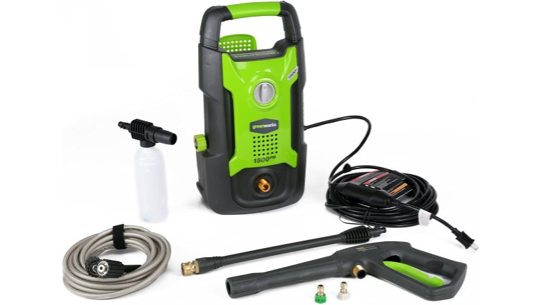 Greenworks 1500 PSI Pressure Washer