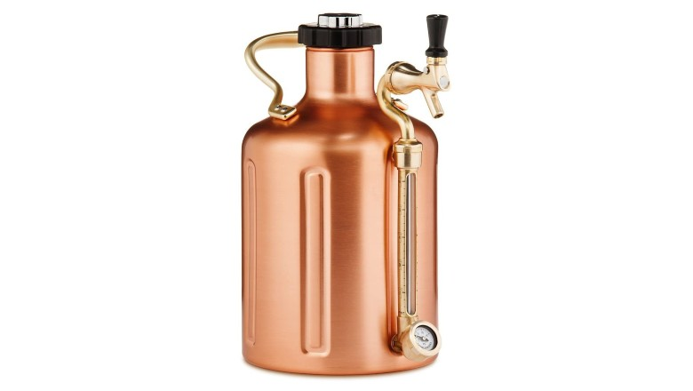 GrowlerWerks 128oz Copper uKeg