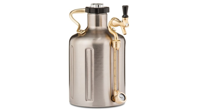 GrowlerWerks 128oz Stainless Steel uKeg