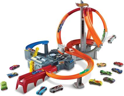 hot wheels spin track