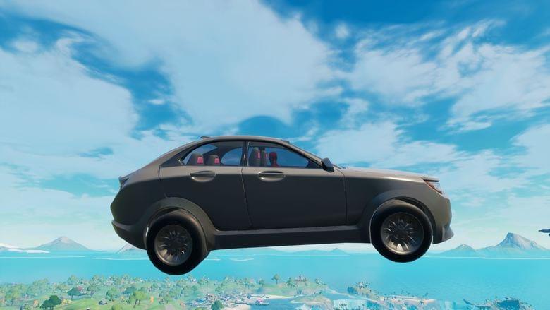 how to drive a car through a rift fortnite