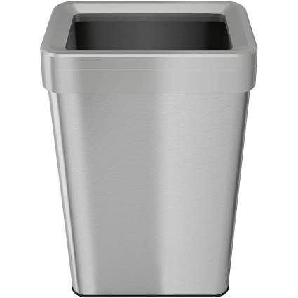 iTouchless 21 Gallon Dual-Deodorizer Open Top Trash Can