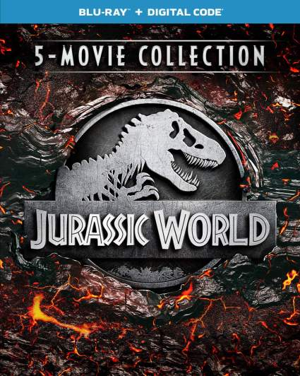 jurassic world 5 movie collection deal