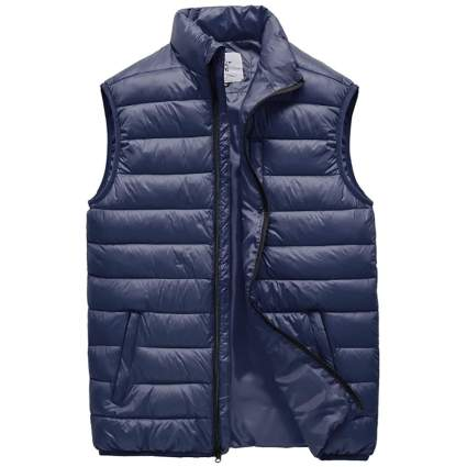 JYG Men's Winter Quilted Puffer Vest