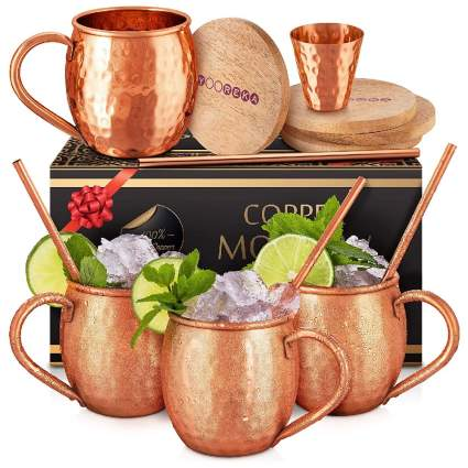 Moscow Mule Copper Mug 4-Pack