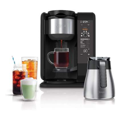 ninja hot and cold coffee system
