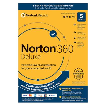 norton 360 software