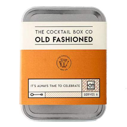 old fashioned cocktail box