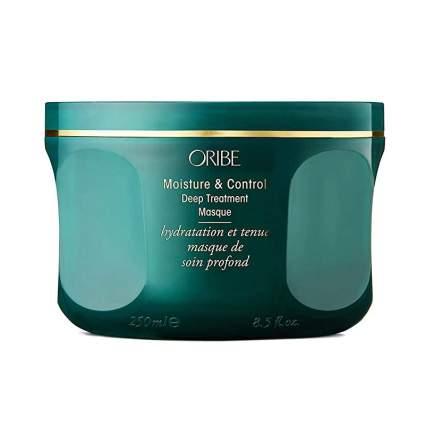 Deep teal Oribe jar of hair mask