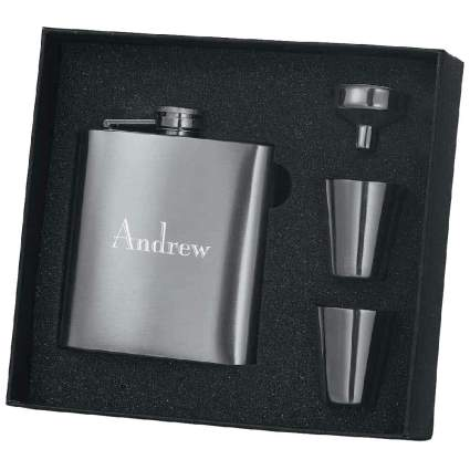 Personalized 8oz Hip Flask