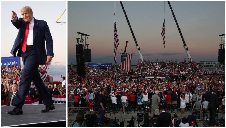 Trump Sanford Rally Crowd Size