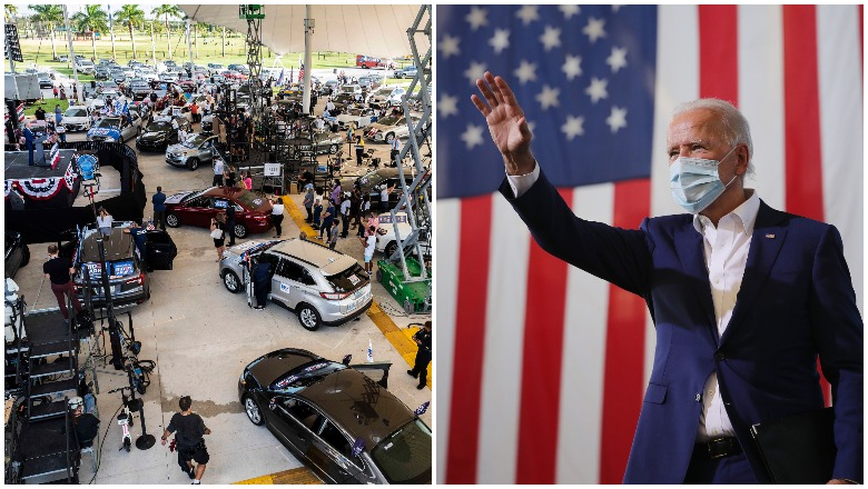 Joe Biden's Florida Rally Crowd Size