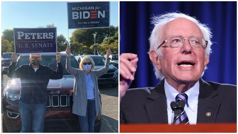 Bernie Sanders' Michigan Rally Crowd Photos