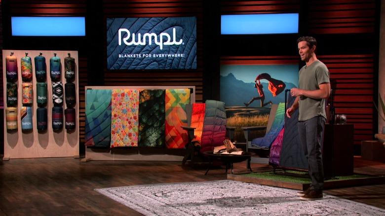 Rumpl Blankets Shark Tank