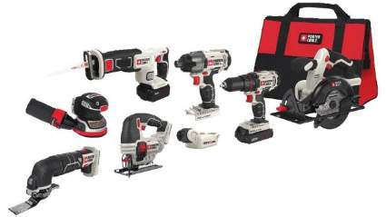 Porter-Cable 20V MAX Cordless Drill 8-Tool Combo Kit