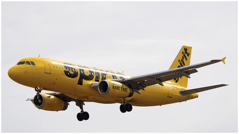 spirit airlines flight video