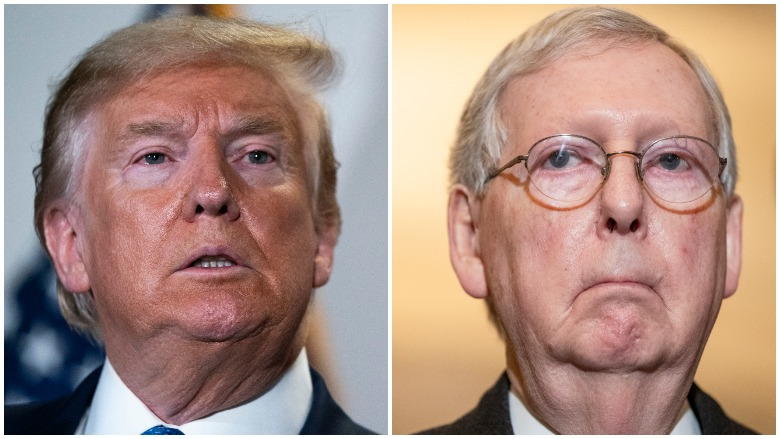 stimulus package 2 Trump McConnell