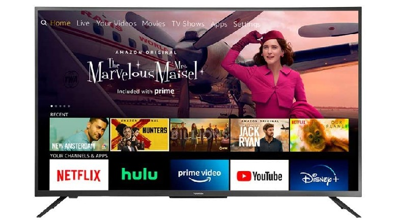 Toshiba 32-Inch 720p LED Television with Fire TV