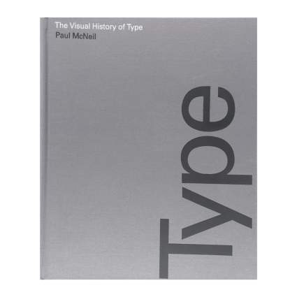 Book cover for Visual History of Type