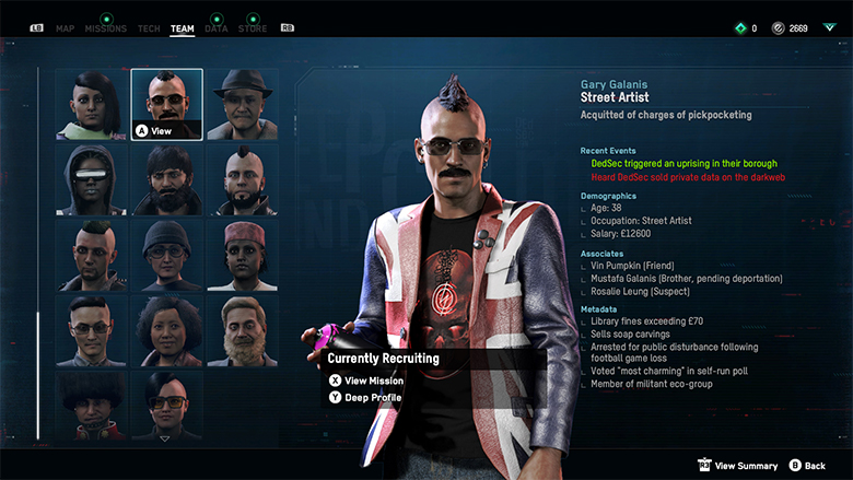watch dogs legion how to recruit