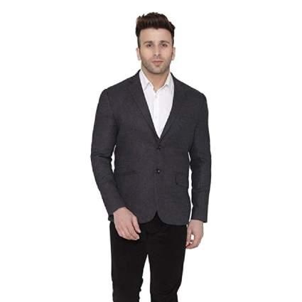 Wintage Men's Wool Casual Blazer