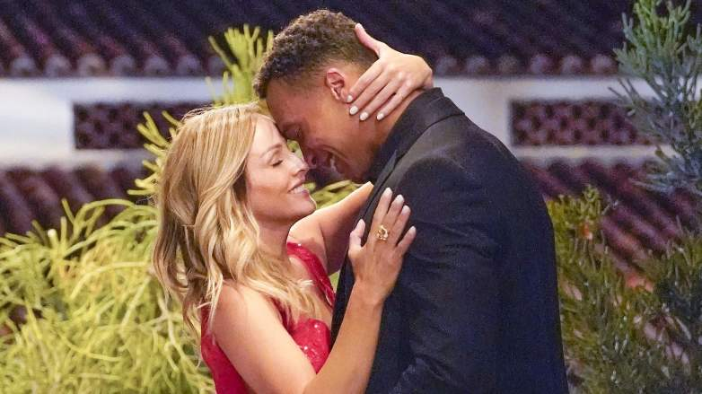 Clare Crawley and Dale Moss are head over heels for each other on The Bachelorette.