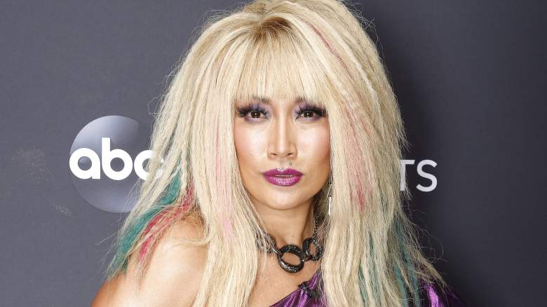 Carrie Ann Inaba on '80s Night during Dancing With the Stars season 29.