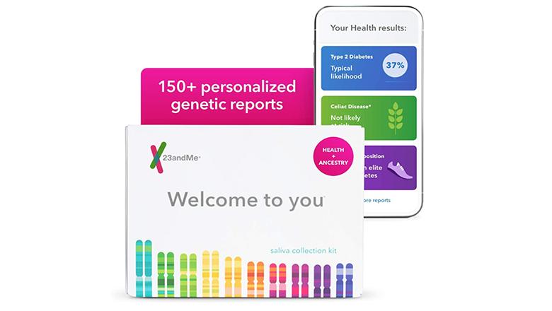 23andMe dna test kit