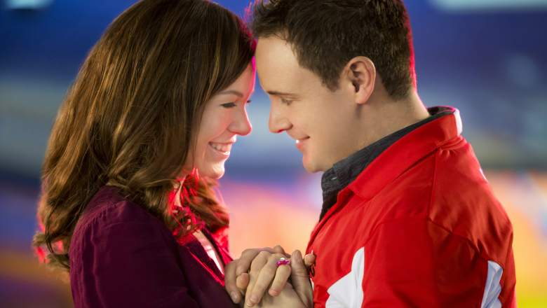 Rachel Boston and Kirby Morrow in Ring by Spring.