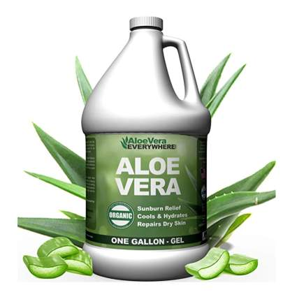 gallon jug of aloe vera gel