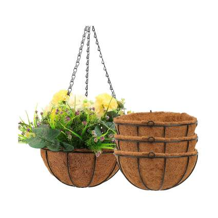 Angchun Hanging Planters for Outdoor & Indoor Plants