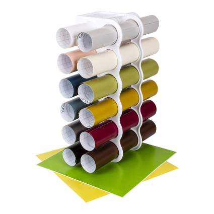 storage for rolls of vinyl