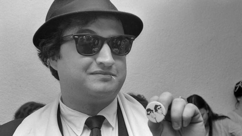 Comedian John Belushi died in 1982 at the age of 33.