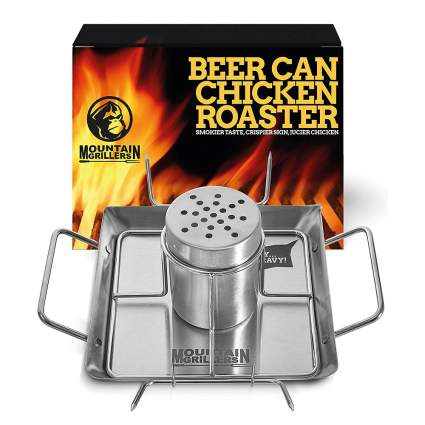 Best Grilling Gifts - Beer Can Chicken Stand