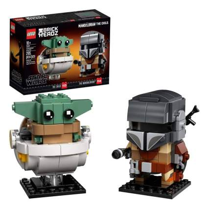 BrickHeadz Star Wars The Mandalorian & The Child