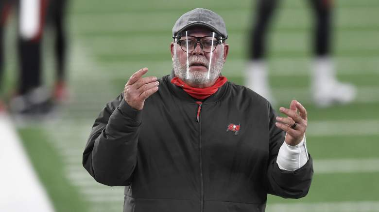 Buccaneers Bruce Arians Gives Sobering Outlook For Playoff Hopes Heavy Com